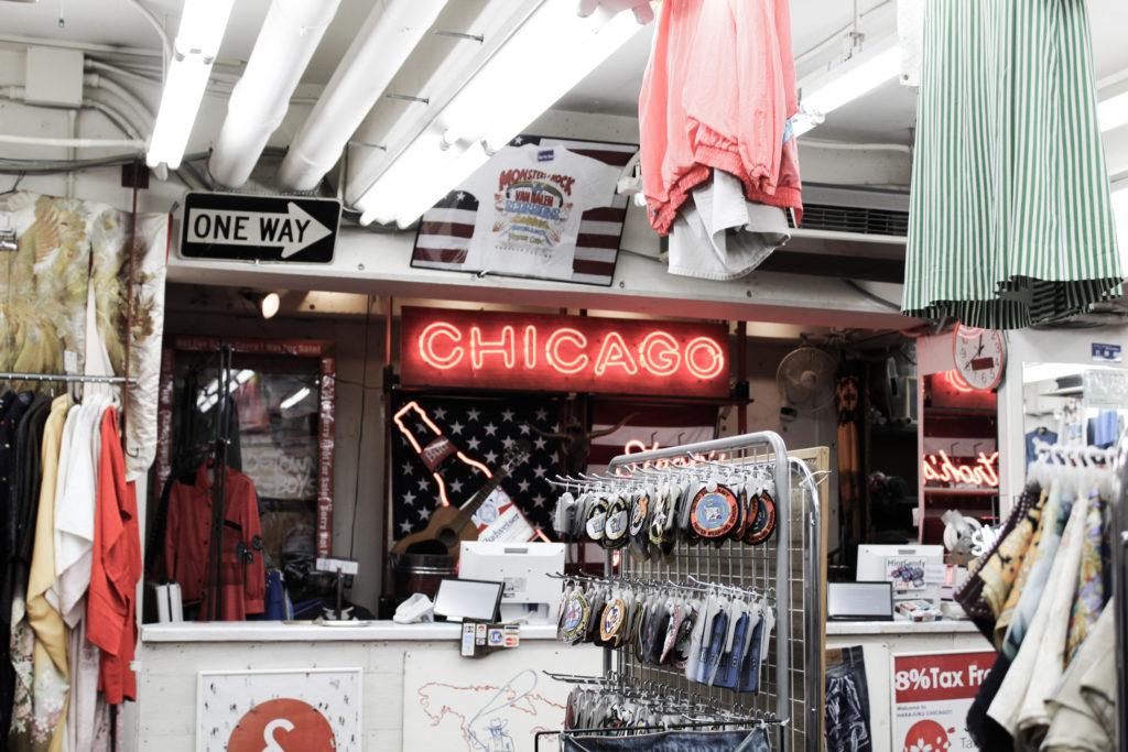 Chicago Thrift Store in Tokyo
