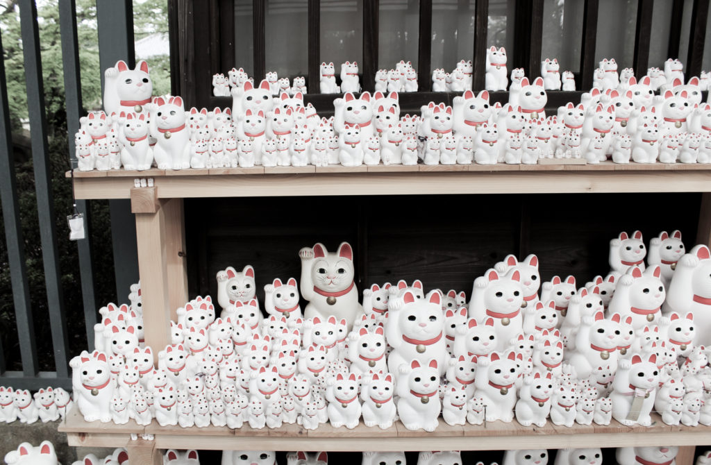Gotokuji Temple Cat Temple