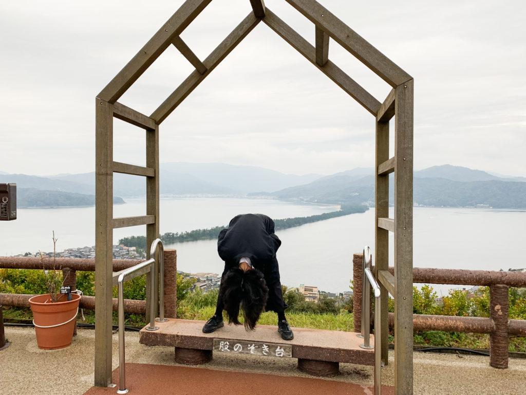 Amanohashidate viewing platform matanozoki