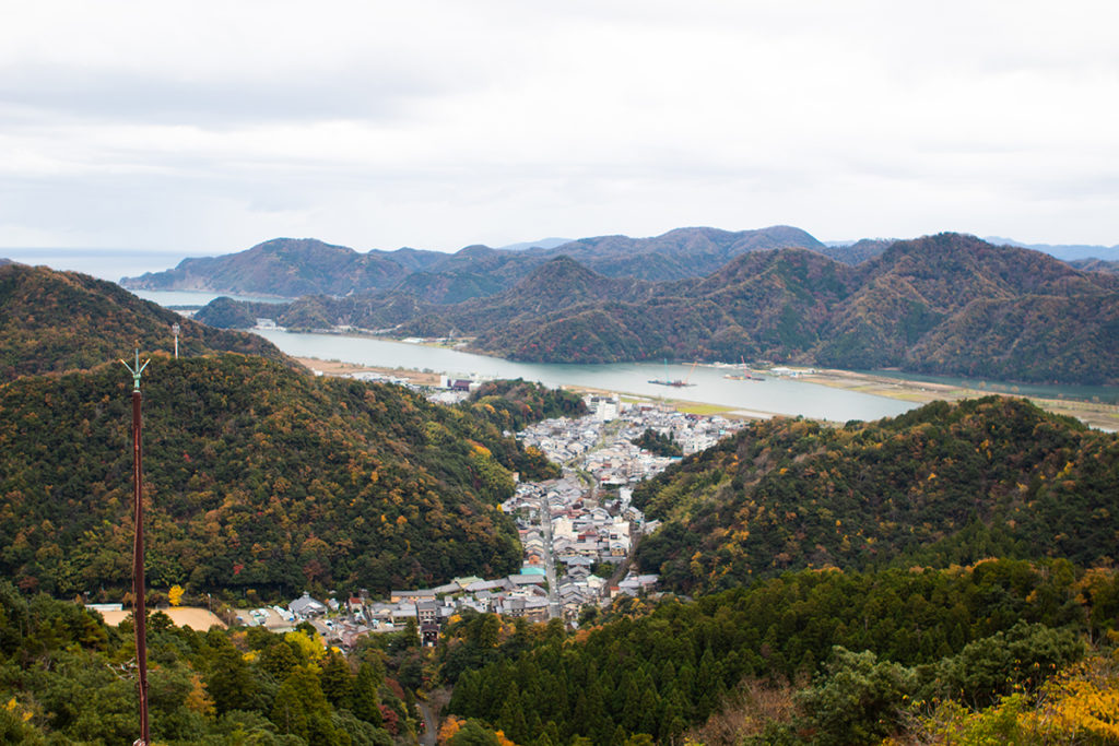 View from Mount Dashi