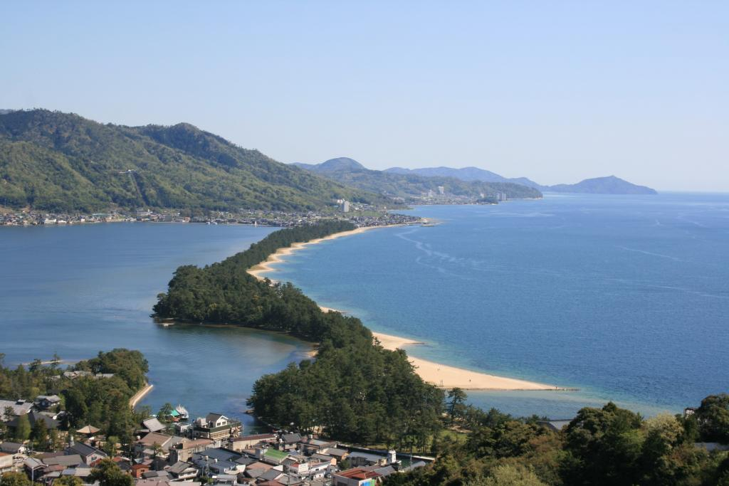 View from Amanohashidate View Land