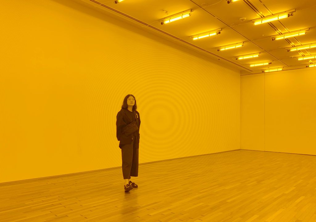 Room for one colour by Olafur Eliasson