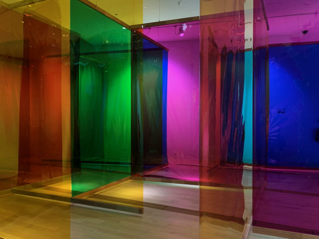 Seu corpo da obra (Your Body of Work) by Olafur Eliasson