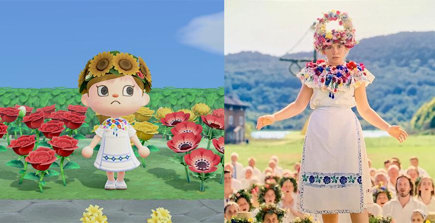 Animal Crossing midsommar may queen
